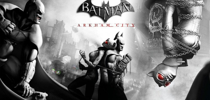 Batman-Arkhasdfgm-City