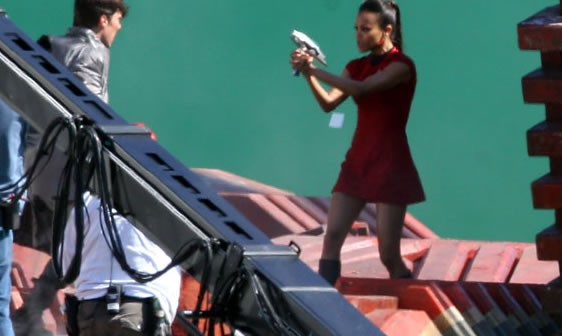 First Photos from Star Trek 2