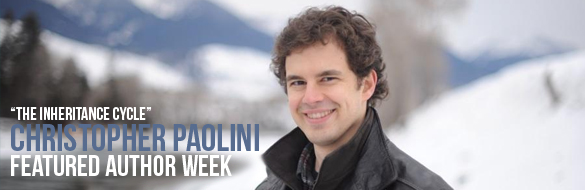 christopher paolini featured week