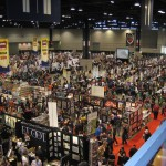Artist Alley and the exhibitors floor