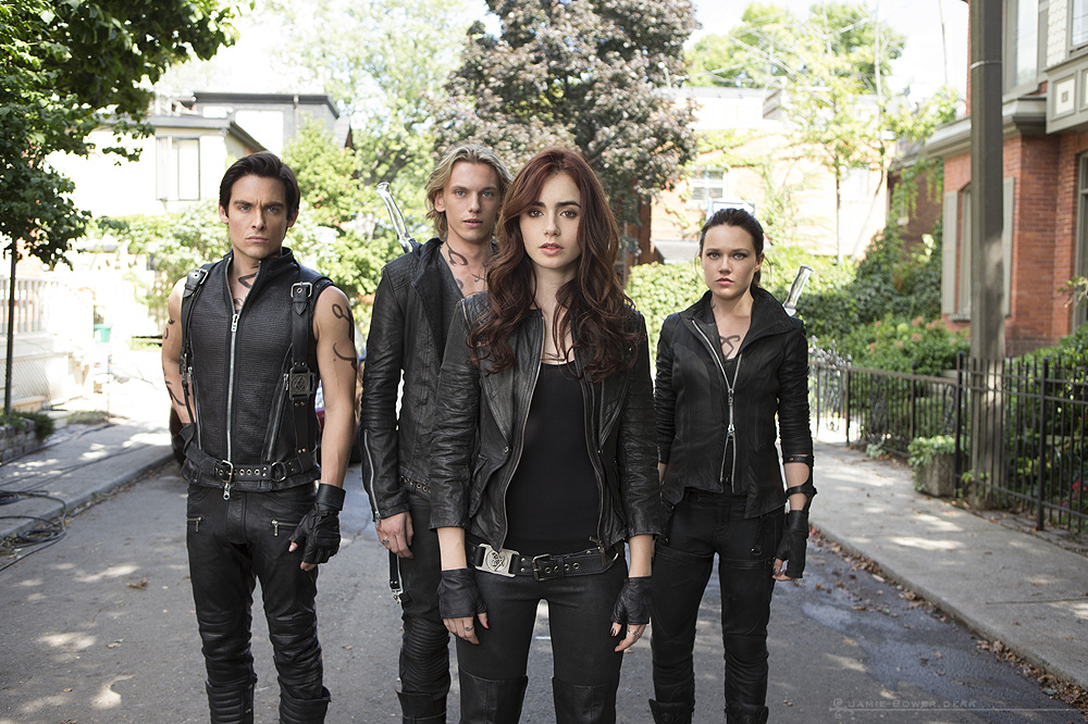 In fantasy of any form   Jace And Clary Movie