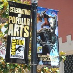 SDCC: Downtown lamp post signs