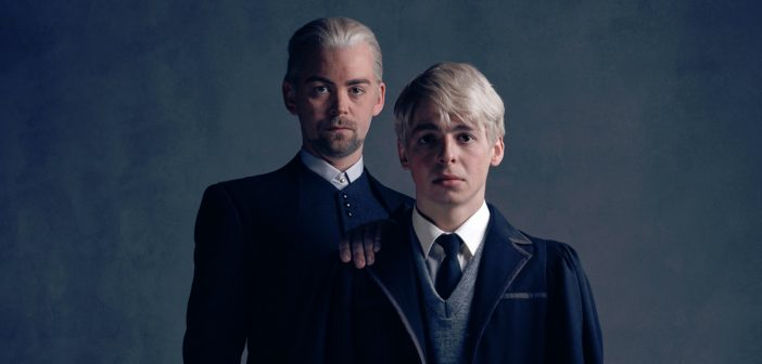 Final 'Harry Potter and the Cursed Child' portraits introduce Draco and Scorpius Malfoy!