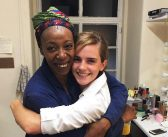 Old Hermione meets new Hermione: Emma Watson attends 'Harry Potter and the Cursed Child,' meets the cast