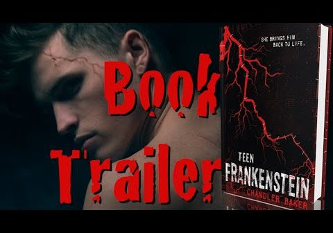 Check out this AMAZING book trailer for TEEN FRANKENSTEIN!