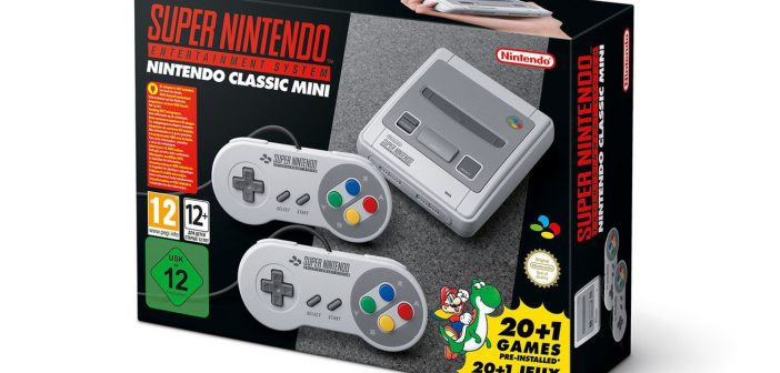 Nintento announces 'Nintendo SNES Classic' console releasing this year